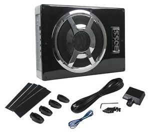 "Boss BASS800 800W Slim Low Profile 8"" Under Seat Amplified Powered Subwoofer Sub"