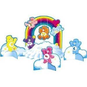 Care Bears Party Centerpiece Care Bears Party Decorations Baby's First Birthday