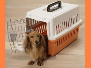 Pet Dog Cat Air Travel Carrier Travel Crates Small