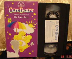 Care Bears Funshine Bear Presents The Great Race VHS 012569019737
