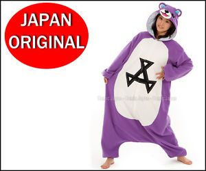 New KIGURUMI Care Bear Akkuma Japanese Party Pajamas Halloween Costume Original