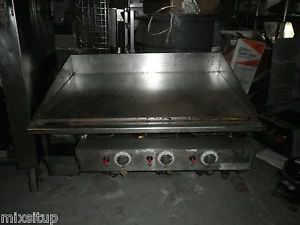 "3 Keating Miraclean 36"" Gas Griddle Flat Grills Easy Clean Up Sale Nice"