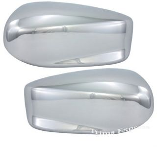 2008 2012 Honda Accord Chrome Door Mirror Covers for 4 Sedan and 2 Coupe