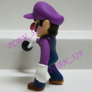 New Super Mario Brothers Action Figure Waluigi
