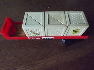 Redline Flatbed Trailer Crates for Tyco HO Slot Truck