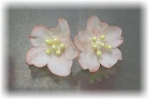 Edible Cake Decorations Dainty Gum Paste Cherry Blossoms
