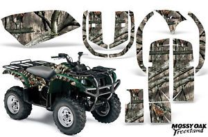 AMR Yamaha Grizzly ATV 660 Quad Sticker Graphic Kit Decal Accessories Oak Camo