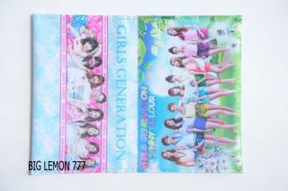 SNSD Girls' Generation Korean Band Passport Holder Cover C1