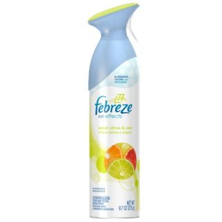3 Pack Febreze Air Effects Freshener Sweet Citrus Zest 9 7 Ounces
