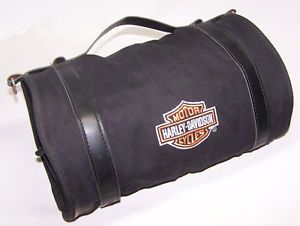 Harley Davidson 8 Compartment Rolling Emergency Kit Tool w Accessories