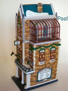 University Club UTube New Department Dept 56 Village Christmas in City D56 CIC