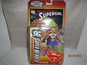 Supergirl DC Super Heroes Action Figure Comic Book DCSH Mattel