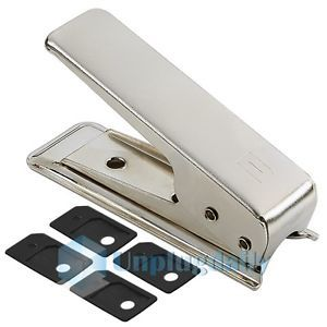 Micro Sim Card Cutter w 4 Sim Adapters for iPhone 4G OS