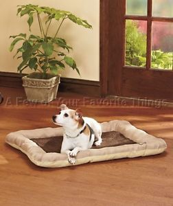 "Chocolate Brown Memory Foam Small Pet Dog Bed Orthopedic Support 23"" x 36"""