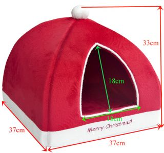 Pet Pets Bed Dog Puppy Cat Kitten House Hut Igloo Mat Kennel Cattery Beds 5 Type