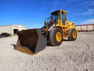 John Deere 544G TC Wheel Loader JD 544 Bucket Forks Cab A C Cat Video DFW Texas