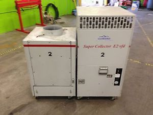 Duct Cleaning Negative Air Machine HEPA Vac Super Collector E2 Vac Systems