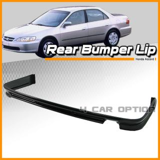 Fit for 98 00 02 Honda Accord Sedan 4DRS Model ABS Rear Bumper Lip Spoiler