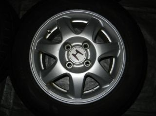 "JDM 15"" Honda Rims Wheels 4x114 3 15x6 50 Accord Prelude Civic Integra"