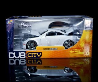 Lexus SC430 Dub City Diecast 1 24 Scale White