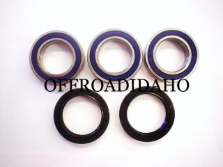 Rear Wheel Axle Bearing Kit Honda CRF250R 04 05 06 07 08 09 10 11 12 13 CRF250 R