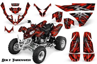 Polaris Predator 500 Graphics Kit Creatorx Decals Stickers BTRB