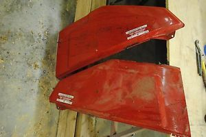 Cub Cadet Tractor Wide Frame 1282 Engine Side Panels Red
