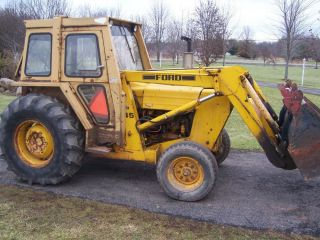 Ford 545 Diesel Industrial Ford Tractor Front End Loader