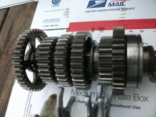 1981 Yamaha Maxim XJ 550 XJ550 Engine Transmission Gear