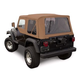 Jeep Wrangler Soft Top Tinted Windows
