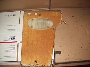 1960 McCormick Farmall 560 LH Front Side Engine Nose Cover Plate P999
