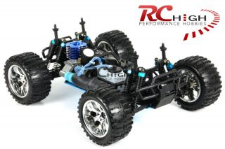 ★new 1 10 RC Radio Control Nitro Car 4WD Monster Truck★