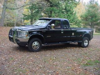 04 Ford F350 Lariat Supercab Diesel 4 Wheel Drive DRW Low Miles Amazing Truck