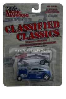 Racing Champions Classified Classics `32 Ford Speedback