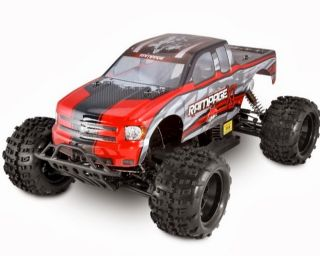 Redcat Racing Rampage XT Huge 1 5 Scale Gasoline Truck Red Free Dog Bones