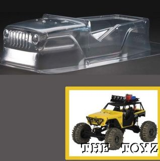 Axial Wraith Jeep Wrangler Rubicon Clear Body PRO3380 00