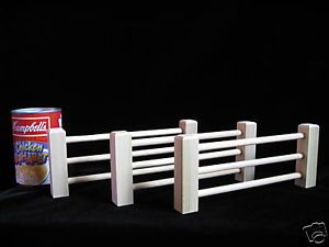 Wood Equestrian Horse Jumping Rail Farm Fence Gate Toy