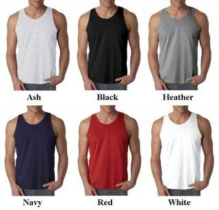 Mens Anvil Tank Top Shirt 2XL Price Apparel