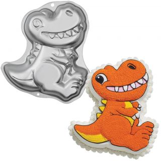 Wilton Dinosaur T Rex Cake Tin Baking Pan Birthday Party Supplies