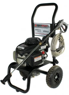 Power Washer P3024R 2 4 GPM 3000 PSI 4 CY Gas Pressure Washer w Honda Engine