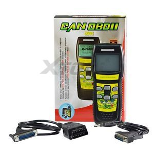 U581 Check Engine Light OBDII Scanner Read Erase Trouble Code Live Data Can Bus