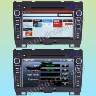Car DVD Player Radio GPS Navigation for Great Wall Hover Haval H3 H5 X200 3G