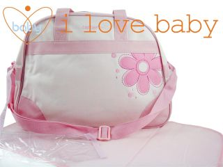 Carter's Flower Baby Diaper Nappy Changing Bag Pink