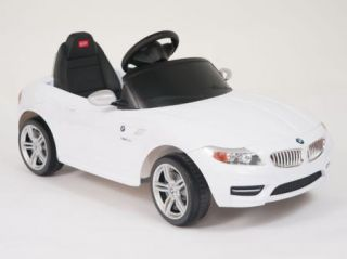 Licensed BMW Power Ride on Toy Kids Remote Control Car Power Wheel Key Lights
