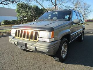 1996 Jeep Grand Cherokee Limited 4x4 Leather Sunroof Heated Seats