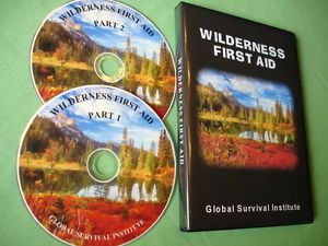 FFA3 Wilderness First Aid 2 DVD Set Medical Emergency Guide for Survival
