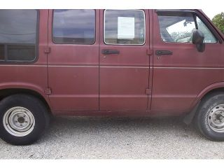1997 Dodge RAM Van Cold A C Reese Hitch