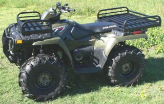 Mighty Lite Aluminum Rear Rack Suzuki King Quad Eiger Ozark Quad Master Runner