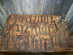 46 Old Vintage Wrenches Antique Industrial Rustic Barn Decor Altered Art Tools