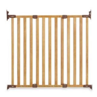 KidCo Angle Mount Wood Safeway® Gate in Oak